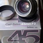 Carl Zeiss 45mm f/2