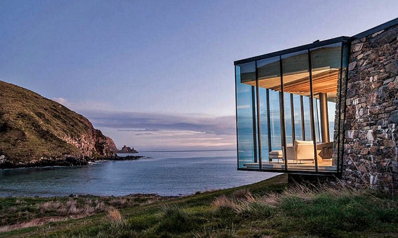 Wonderful Isolated Beach House on New Zealand's Shores